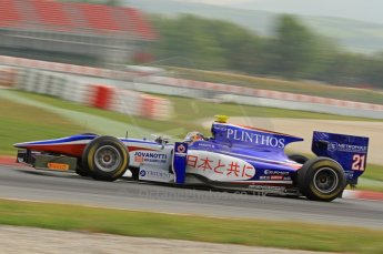 © Octane Photographic 2011. GP2 Official pre-season testing, Barcelona, Tuesday 19th April 2011. Trident Racing - Stefano Coletti. Digital Ref : 0052CB7D0293