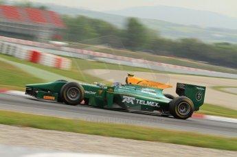 © Octane Photographic 2011. GP2 Official pre-season testing, Barcelona, Tuesday 19th April 2011. Lotus Art - Esteban Gutierrez. Digital Ref : 0052CB7D0301