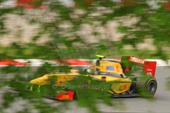 © Octane Photographic 2011. GP2 Official pre-season testing, Barcelona, Tuesday 19th April 2011. DAMS - Pal Varhaug. Digital Ref : 0052CB7D0318