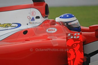 © Octane Photographic 2011. GP2 Official pre-season testing, Silverstone, Tuesday 5th April 2011. Scuderia Coloni - Michael Herck. Digital Ref : 0039CB1D6198