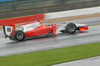 © Octane Photographic 2011. GP2 Official pre-season testing, Silverstone, Tuesday 5th April 2011. Scuderia Coloni - Michael Herck. Digital Ref : 0039CB1D6246