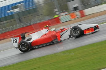 © Octane Photographic 2011. GP2 Official pre-season testing, Silverstone, Tuesday 5th April 2011. Scuderia Coloni - Davide Rigon. Digital Ref : 0039CB1D6490