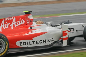© Octane Photographic 2011. GP2 Official pre-season testing, Silverstone, Tuesday 5th April 2011. Team Air Asia - Davide Valsecchi. Digital Ref : 0039CB1D6591