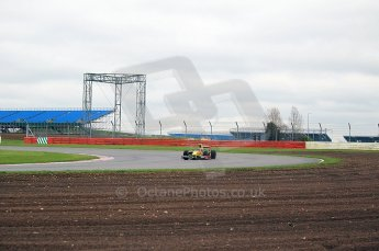 © Octane Photographic 2011. GP2 Official pre-season testing, Silverstone, Tuesday 5th April 2011. DAMS - Pal Varhaug. Digital Ref : 0039CB1D6843