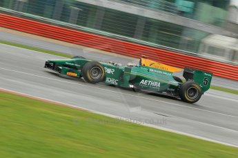 © Octane Photographic 2011. GP2 Official pre-season testing, Silverstone, Tuesday 5th April 2011. Lotus Art - Jules Bianchi. Digital Ref : 0039CB1D6910