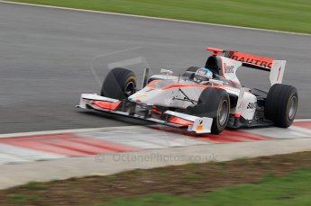 © Octane Photographic 2011. GP2 Official pre-season testing, Silverstone, Tuesday 5th April 2011. Rapax - Fabia Leimer. Digital Ref : 0039CB1D7367