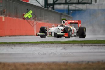 © Octane Photographic 2011. GP2 Official pre-season testing, Silverstone, Tuesday 5th April 2011. Team Air Asia - Davide Valsecchi. Digital Ref : 0039CB7D0152