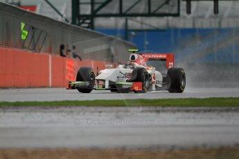 © Octane Photographic 2011. GP2 Official pre-season testing, Silverstone, Tuesday 5th April 2011. Team Air Asia - Davide Valsecchi. Digital Ref : 0039CB7D0194
