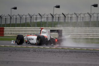 © Octane Photographic 2011. GP2 Official pre-season testing, Silverstone, Tuesday 5th April 2011. Rapax - Fabia Leimer. Digital Ref : 0039CB7D0244