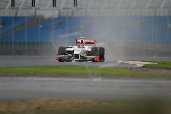 © Octane Photographic 2011. GP2 Official pre-season testing, Silverstone, Tuesday 5th April 2011. Team Air Asia - Davide Valsecchi. Digital Ref : 0039CB7D0267