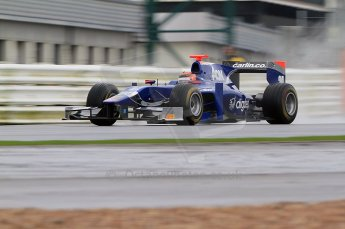 © Octane Photographic 2011. GP2 Official pre-season testing, Silverstone, Tuesday 5th April 2011. Carlin - Max Chilton. Digital Ref : 0039CB7D0296