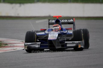 © Octane Photographic 2011. GP2 Official pre-season testing, Silverstone, Tuesday 5th April 2011. Carlin - Max Chilton. Digital Ref : 0039CB7D0376