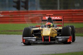 © Octane Photographic 2011. GP2 Official pre-season testing, Silverstone, Tuesday 5th April 2011. DAMS - Romain Grosjean. Digital Ref : 0039CB7D0506