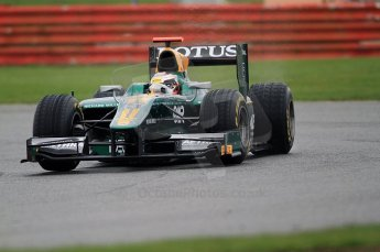 © Octane Photographic 2011. GP2 Official pre-season testing, Silverstone, Tuesday 5th April 2011. Lotus Art - Jules Bianchi. Digital Ref : 0039CB7D0516