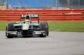 © Octane Photographic 2011. GP2 Official pre-season testing, Silverstone, Tuesday 5th April 2011. Lotus Art - Jules Bianchi. Digital Ref : 0039CB7D0634