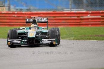 © Octane Photographic 2011. GP2 Official pre-season testing, Silverstone, Tuesday 5th April 2011. Lotus Art - Jules Bianchi. Digital Ref : 0039CB7D0634