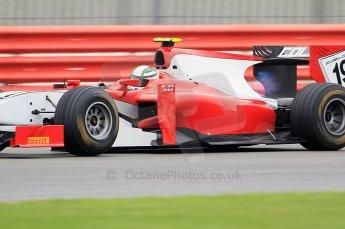 © Octane Photographic 2011. GP2 Official pre-season testing, Silverstone, Tuesday 5th April 2011. Coloni - Davide Rigon. Digital Ref : 0039CB7D0889