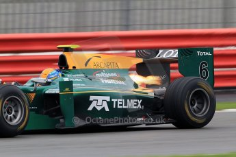 © Octane Photographic 2011. GP2 Official pre-season testing, Silverstone, Tuesday 5th April 2011. Lotus Art - Esteban Gutierez. Digital Ref : 0039CB7D0931