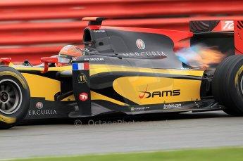 © Octane Photographic 2011. GP2 Official pre-season testing, Silverstone, Tuesday 5th April 2011. DAMS - Romain Grosjean. Digital Ref : 0039CB7D1053