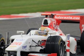 © Octane Photographic 2011. GP2 Official pre-season testing, Silverstone, Tuesday 5th April 2011. Team Air Asia - Luiz Razia. Digital Ref : 0039CB7D1370