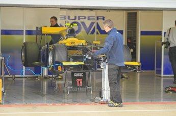 © Octane Photographic 2011. GP2 Official pre-season testing, Silverstone, Wednesday 6th April 2011. Super Nova - Luca Filippi. Digital Ref : 0040CB1D7613
