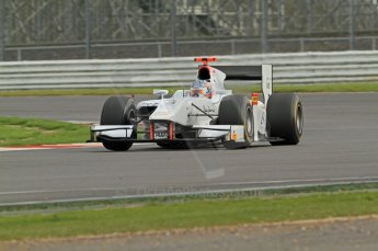 © Octane Photographic 2011. GP2 Official pre-season testing, Silverstone, Wednesday 6th April 2011. Digital Ref : 0040CB7D1541