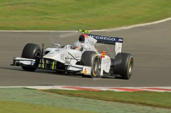 © Octane Photographic 2011. GP2 Official pre-season testing, Silverstone, Wednesday 6th April 2011. Addax - Giedo van der Garde. Digital Ref : 0040CB7D1626