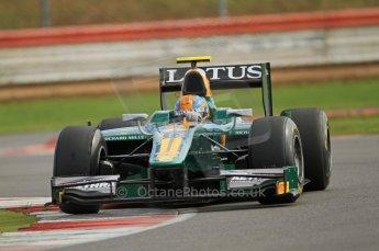 © Octane Photographic 2011. GP2 Official pre-season testing, Silverstone, Wednesday 6th April 2011. Lotus Art - Esteban Gutierez. Digital Ref : 0040CB7D1763