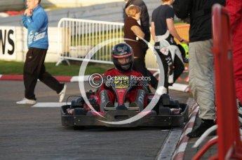 © Octane Photographic Ltd. 2011. Milton Keynes Daytona Karting, Forget-Me-Not Hospice charity racing. Sunday October 30th 2011. Digital Ref : 0194lw7d0227