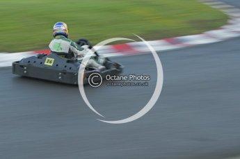 © Octane Photographic Ltd. 2011. Milton Keynes Daytona Karting, Forget-Me-Not Hospice charity racing. Sunday October 30th 2011. Digital Ref : 0194lw7d0425