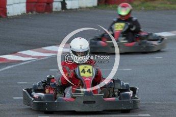 © Octane Photographic Ltd. 2011. Milton Keynes Daytona Karting, Forget-Me-Not Hospice charity racing. Sunday October 30th 2011. Digital Ref : 0194lw7d0828