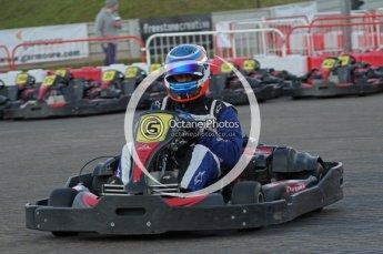 © Octane Photographic Ltd. 2011. Milton Keynes Daytona Karting, Forget-Me-Not Hospice charity racing. Sunday October 30th 2011. Digital Ref : 0194lw7d1254