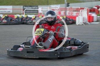 © Octane Photographic Ltd. 2011. Milton Keynes Daytona Karting, Forget-Me-Not Hospice charity racing. Sunday October 30th 2011. Digital Ref : 0194lw7d1274