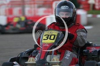 © Octane Photographic Ltd. 2011. Milton Keynes Daytona Karting, Forget-Me-Not Hospice charity racing. Sunday October 30th 2011. Digital Ref : 0194lw7d1327