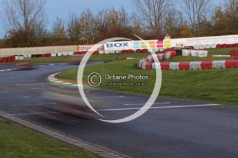 © Octane Photographic Ltd. 2011. Milton Keynes Daytona Karting, Forget-Me-Not Hospice charity racing. Sunday October 30th 2011. Digital Ref : 0194lw7d1602
