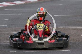 © Octane Photographic Ltd. 2011. Milton Keynes Daytona Karting, Forget-Me-Not Hospice charity racing. Sunday October 30th 2011. Digital Ref : 0194lw7d8412