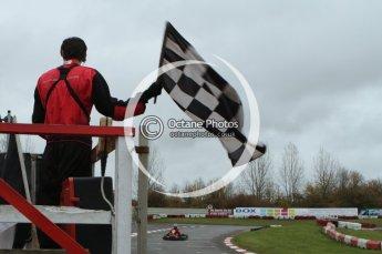 © Octane Photographic Ltd. 2011. Milton Keynes Daytona Karting, Forget-Me-Not Hospice charity racing. Sunday October 30th 2011. Digital Ref : 0194lw7d8794