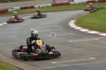 © Octane Photographic Ltd. 2011. Milton Keynes Daytona Karting, Forget-Me-Not Hospice charity racing. Sunday October 30th 2011. Digital Ref : 0194lw7d8903