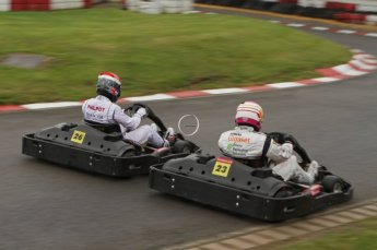 © Octane Photographic Ltd. 2011. Milton Keynes Daytona Karting, Forget-Me-Not Hospice charity racing. Sunday October 30th 2011. Digital Ref : 0194lw7d8955