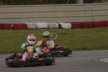 © Octane Photographic Ltd. 2011. Milton Keynes Daytona Karting, Forget-Me-Not Hospice charity racing. Sunday October 30th 2011. Digital Ref : 0194lw7d9058
