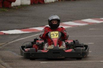 © Octane Photographic Ltd. 2011. Milton Keynes Daytona Karting, Forget-Me-Not Hospice charity racing. Sunday October 30th 2011. Digital Ref : 0194lw7d9268