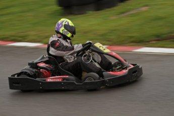 © Octane Photographic Ltd. 2011. Milton Keynes Daytona Karting, Forget-Me-Not Hospice charity racing. Sunday October 30th 2011. Digital Ref : 0194lw7d9332