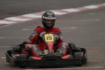 © Octane Photographic Ltd. 2011. Milton Keynes Daytona Karting, Forget-Me-Not Hospice charity racing. Sunday October 30th 2011. Digital Ref : 0194lw7d9350