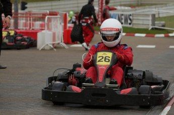© Octane Photographic Ltd. 2011. Milton Keynes Daytona Karting, Forget-Me-Not Hospice charity racing. Sunday October 30th 2011. Digital Ref : 0194lw7d9556