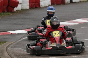 © Octane Photographic Ltd. 2011. Milton Keynes Daytona Karting, Forget-Me-Not Hospice charity racing. Sunday October 30th 2011. Digital Ref : 0194lw7d9607