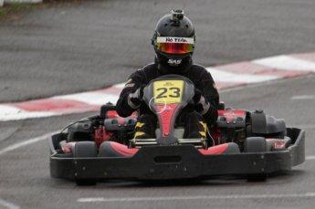 © Octane Photographic Ltd. 2011. Milton Keynes Daytona Karting, Forget-Me-Not Hospice charity racing. Sunday October 30th 2011. Digital Ref : 0194lw7d9664