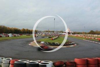 © Octane Photographic Ltd. 2011. Milton Keynes Daytona Karting, Forget-Me-Not Hospice charity racing. Sunday October 30th 2011. Digital Ref : 0194cb1d7866