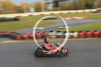 © Octane Photographic Ltd. 2011. Milton Keynes Daytona Karting, Forget-Me-Not Hospice charity racing. Sunday October 30th 2011. Digital Ref : 0194cb1d7873