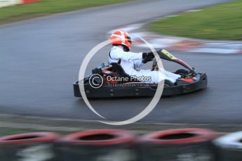 © Octane Photographic Ltd. 2011. Milton Keynes Daytona Karting, Forget-Me-Not Hospice charity racing. Sunday October 30th 2011. Digital Ref : 0194cb7d0022