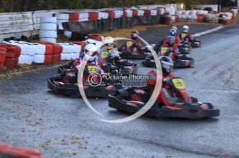 © Octane Photographic Ltd. 2011. Milton Keynes Daytona Karting, Forget-Me-Not Hospice charity racing. Sunday October 30th 2011. Digital Ref : 0194cb7d0057